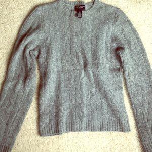 American Eagle XS angora/lambs wool - light gray